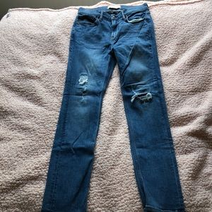 Abercrombie kids (boys) medium wash skinny jeans
